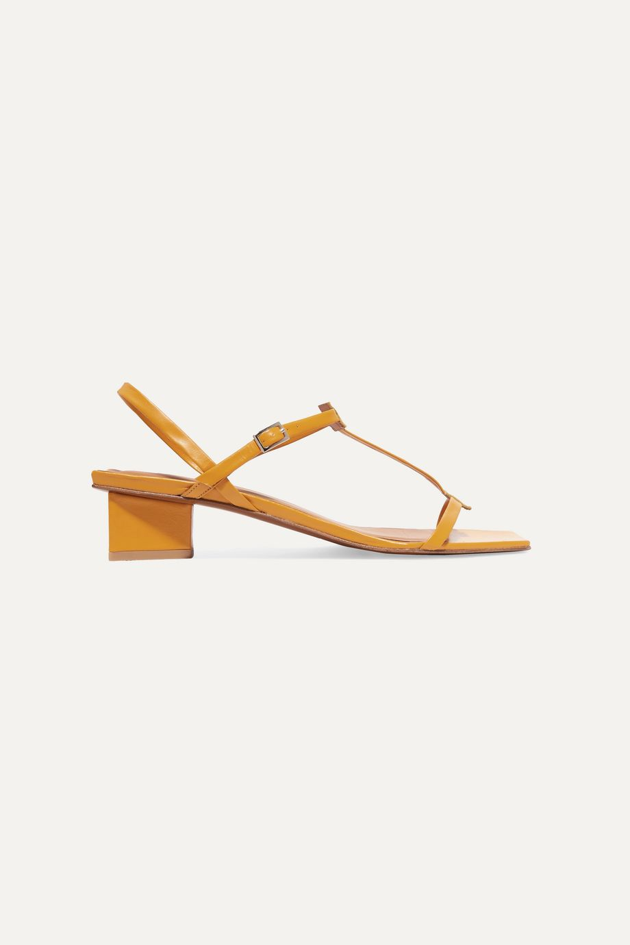 BY FAR Krista leather sandals