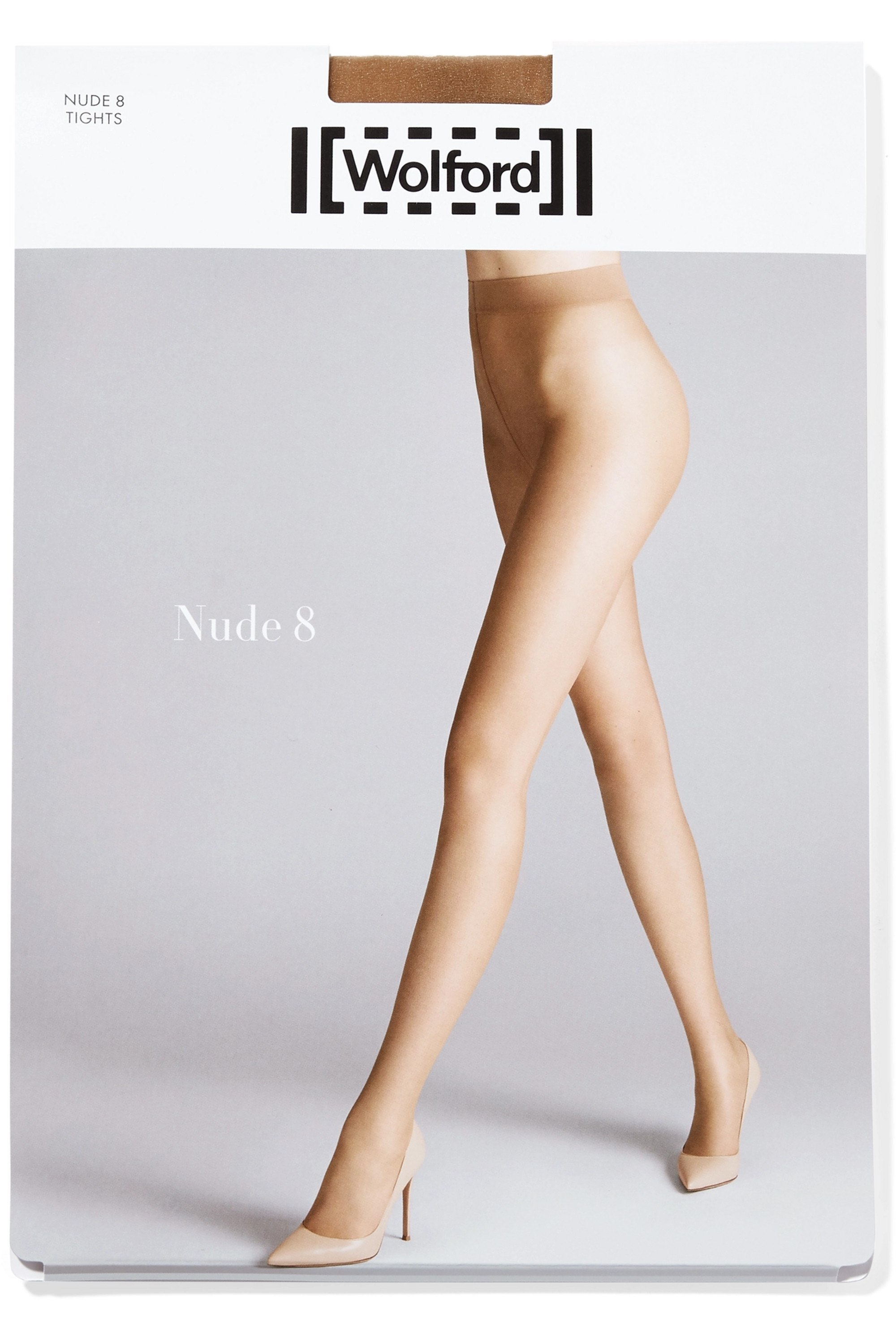 Wolford Nude 8 denier tights