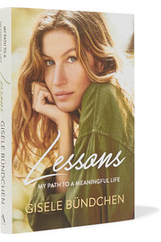 Lessons: My Path to a Meaningful Life by Gisele Bündchen hardcover book