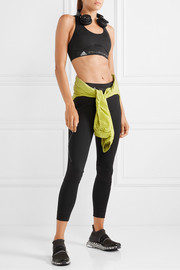 adidas by Stella McCartney Essentials mesh-paneled Climalite sports bra