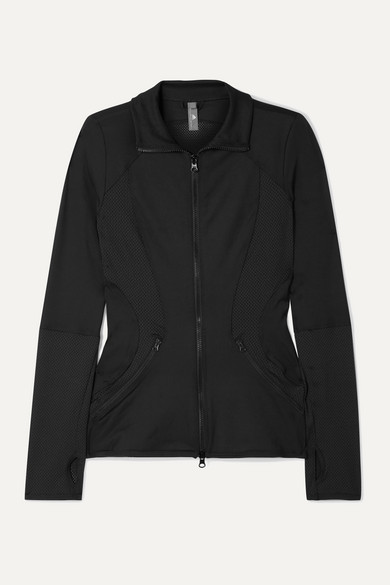 Essentials Mesh paneled Climalite Jacket Black