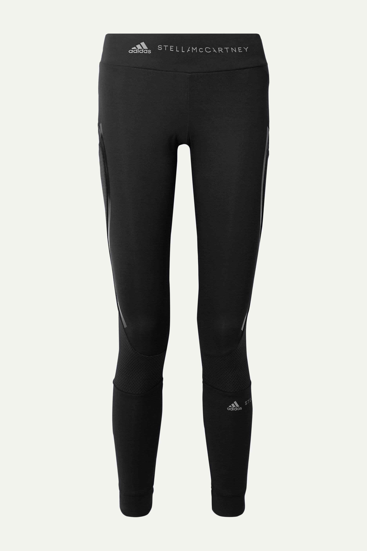 adidas by Stella McCartney Essentials mesh-paneled Climalite leggings