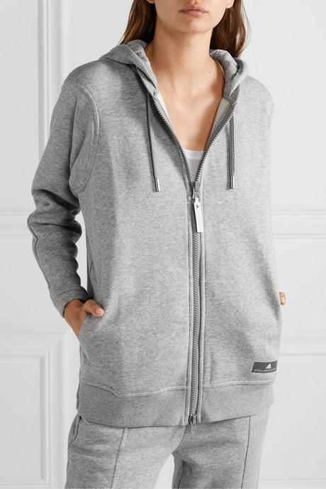 Essentials cotton-blend fleece hoodie