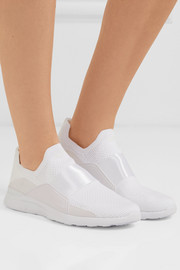 TechLoom Bliss mesh and neoprene slip-on sneakers