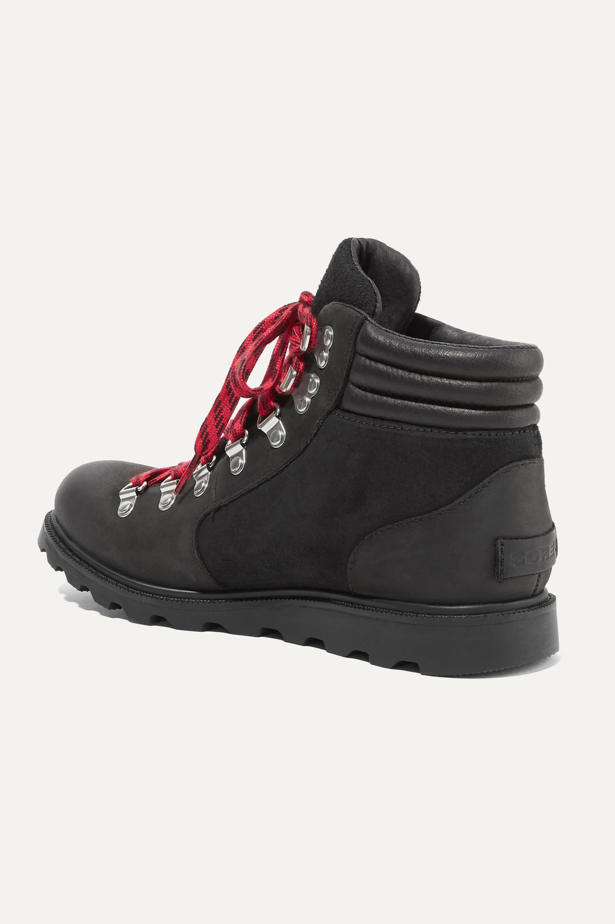 Sorel Ainsley Conquest waterproof leather and suede ankle boots