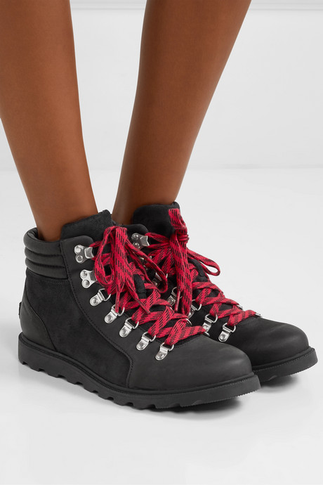 Ainsley Conquest waterproof leather and suede ankle boots