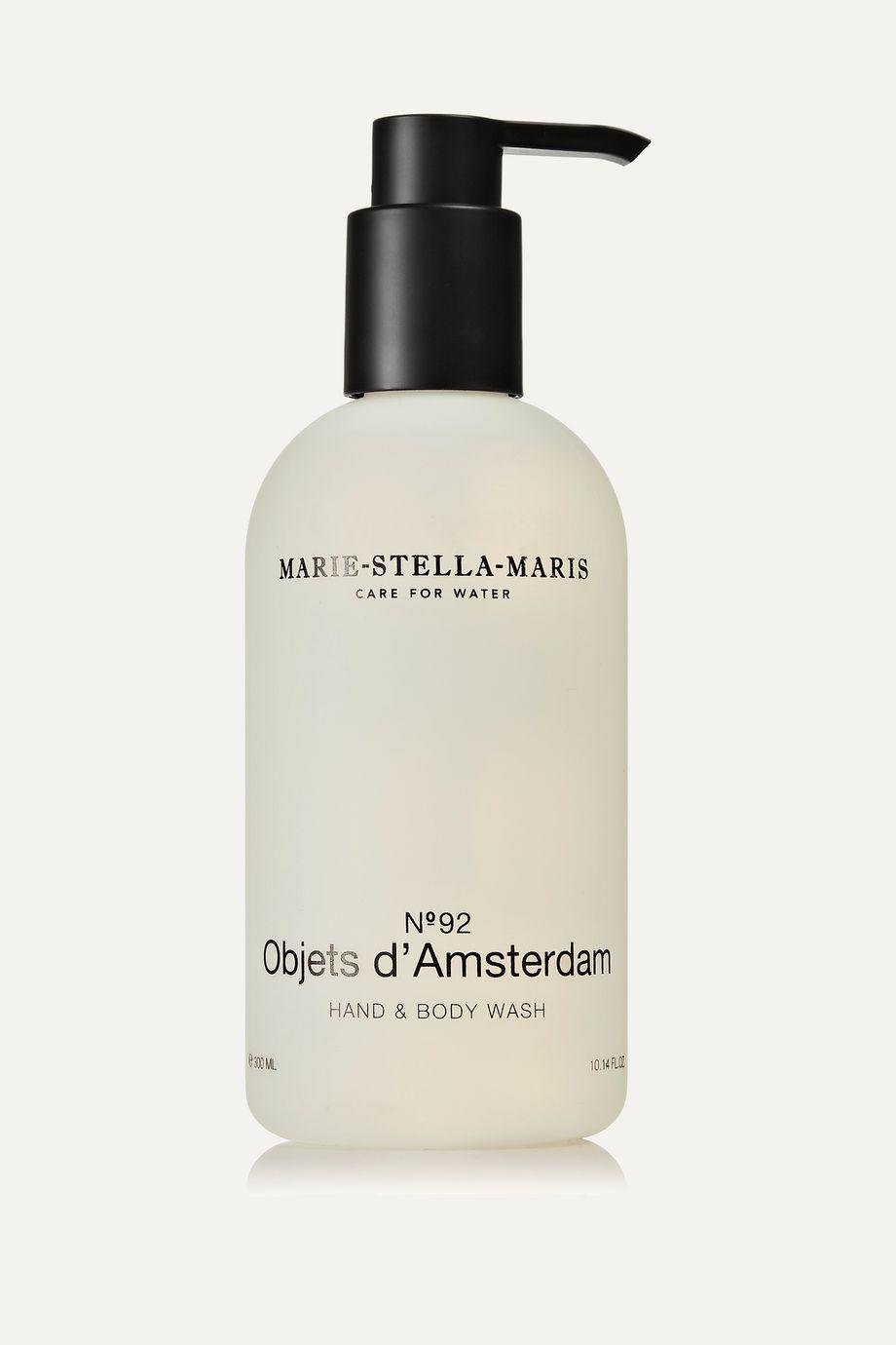 Marie-Stella-Maris Hand & Body Wash – Objets d'Amsterdam, 300 ml – Flüssigseife