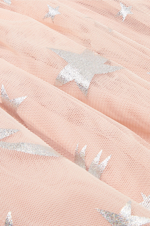 Stella McCartney Kids Metallic printed tulle dress