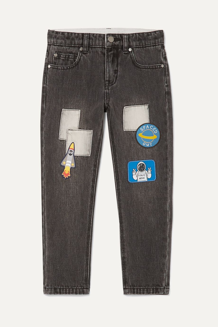 Stella McCartney Kids Appliquéd jeans