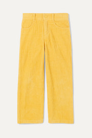 Cotton-corduroy pants