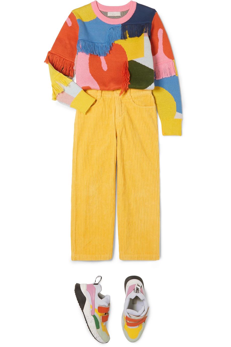 Stella McCartney Kids Cotton-corduroy pants