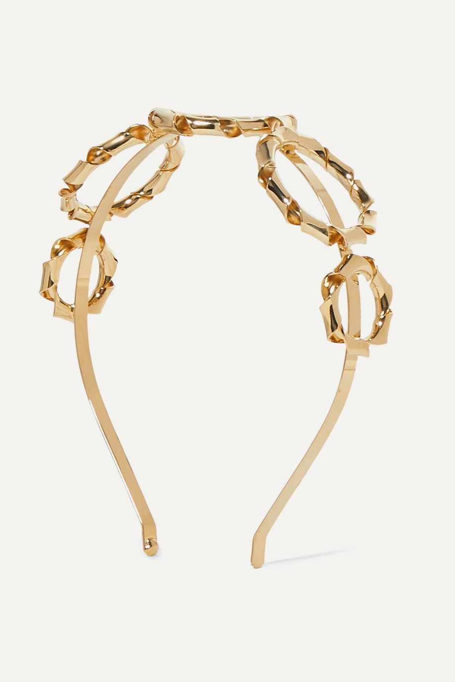 Rosantica Mamba gold-tone headband