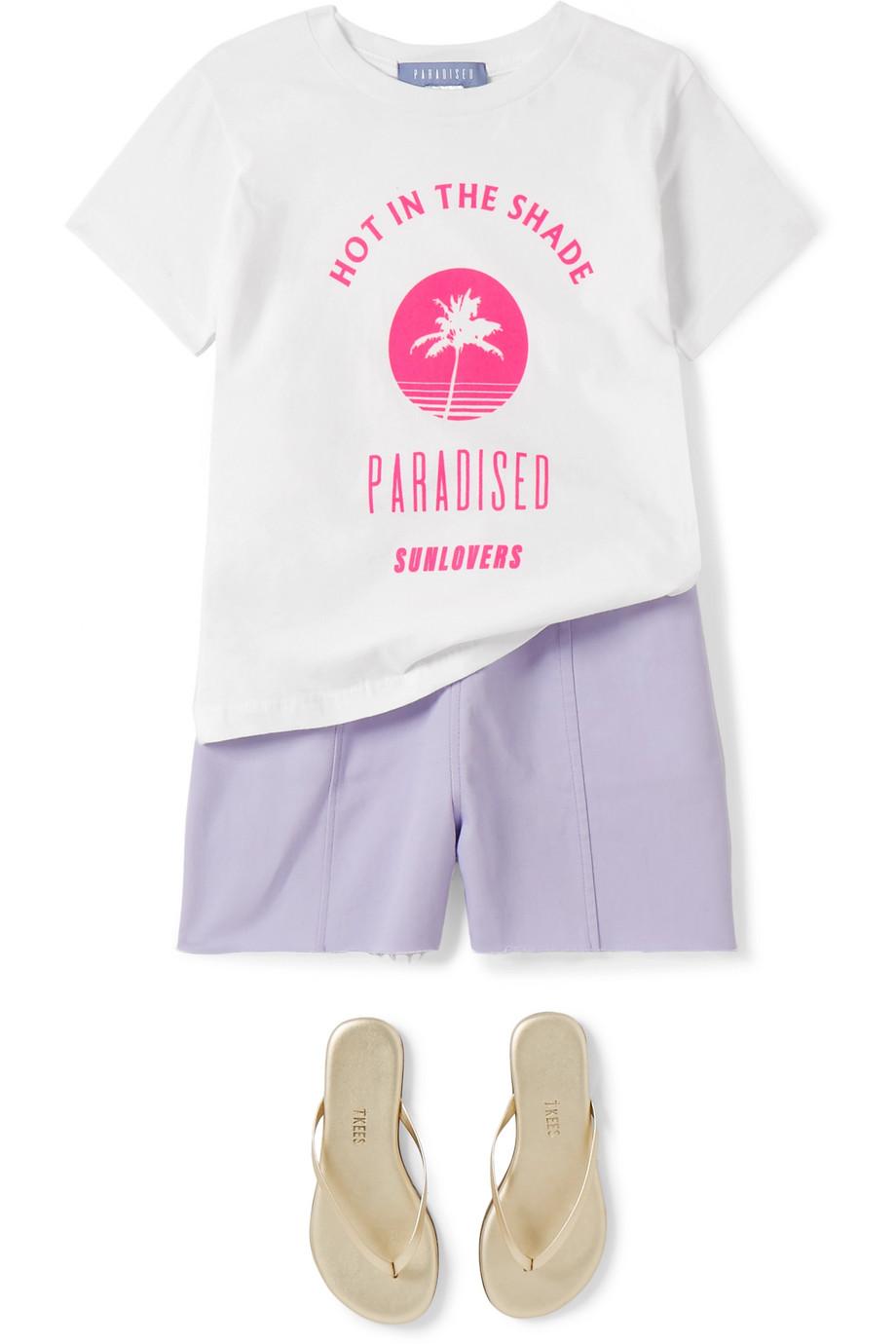 Paradised Kids Lara 纯棉斜纹布短裤