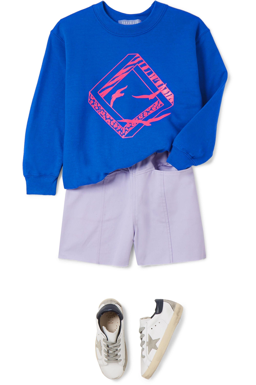 Paradised Kids Sweat en jersey de coton mélangé imprimé Neon