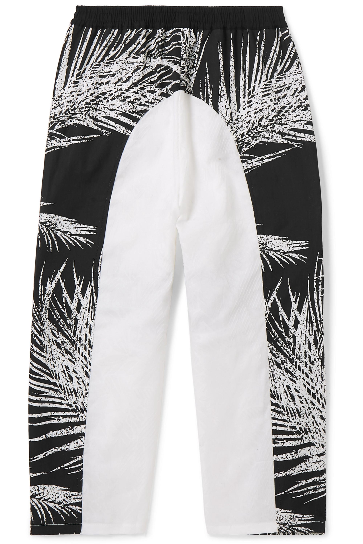 Paradised Kids Jaffer printed cotton-canvas track pants