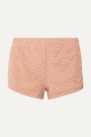 Olympia Activewear Neo stretch-mesh shorts