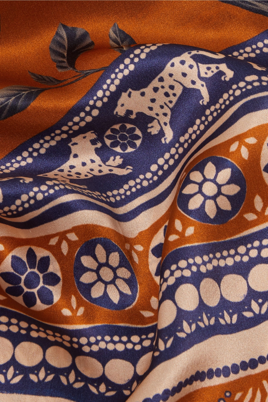 Johanna Ortiz London Town printed silk-twill scarf