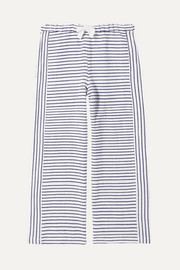 LemLem Kids Welela striped cotton-blend gauze pants