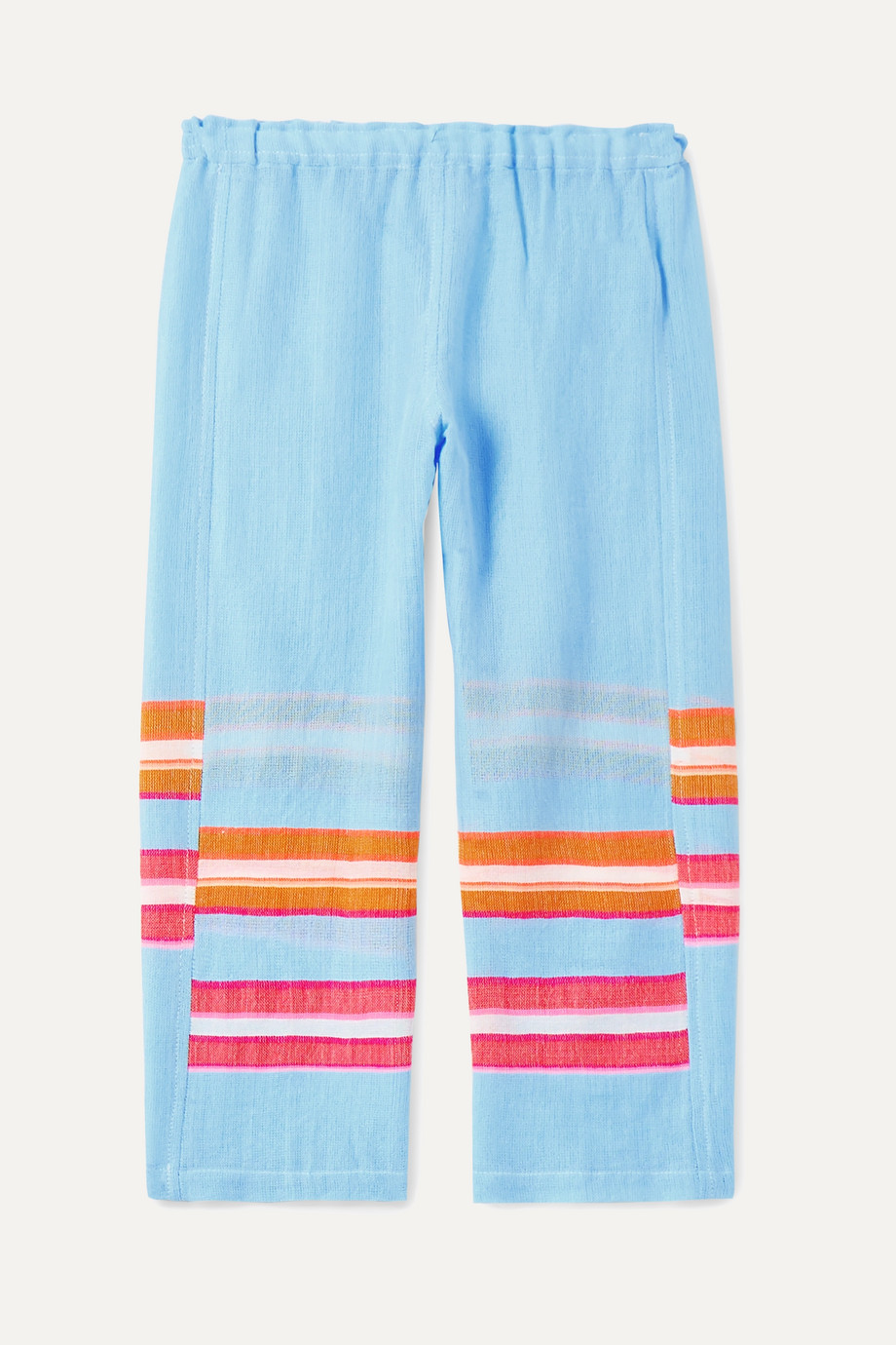 LemLem Kids Eskedar striped cotton-blend gauze pants