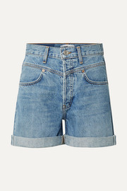 90s denim shorts