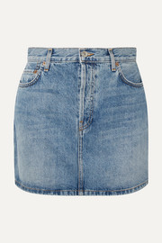 RE/DONE Originals 60s denim mini skirt