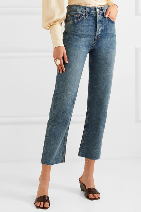 Originals Stovepipe high-rise straight-leg jeans
