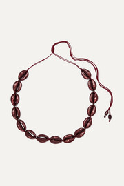 Tohum Large Puka faux shell necklace