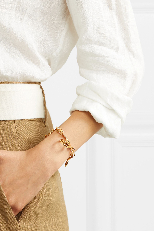 Tohum Dunya gold-plated bracelet
