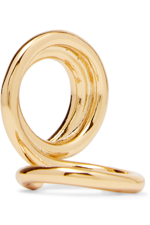 Tohum Dunya gold-plated ring