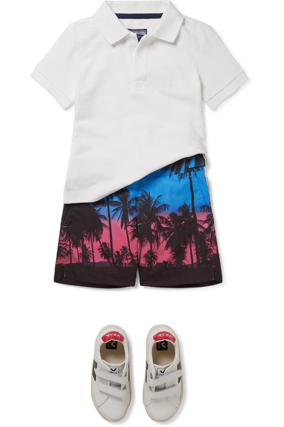 Orlebar Brown Kids Russell printed swim shorts