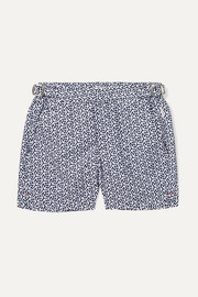 Orlebar Brown Kids Russell Mira printed swim shorts