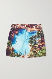 Russell printed swim shorts