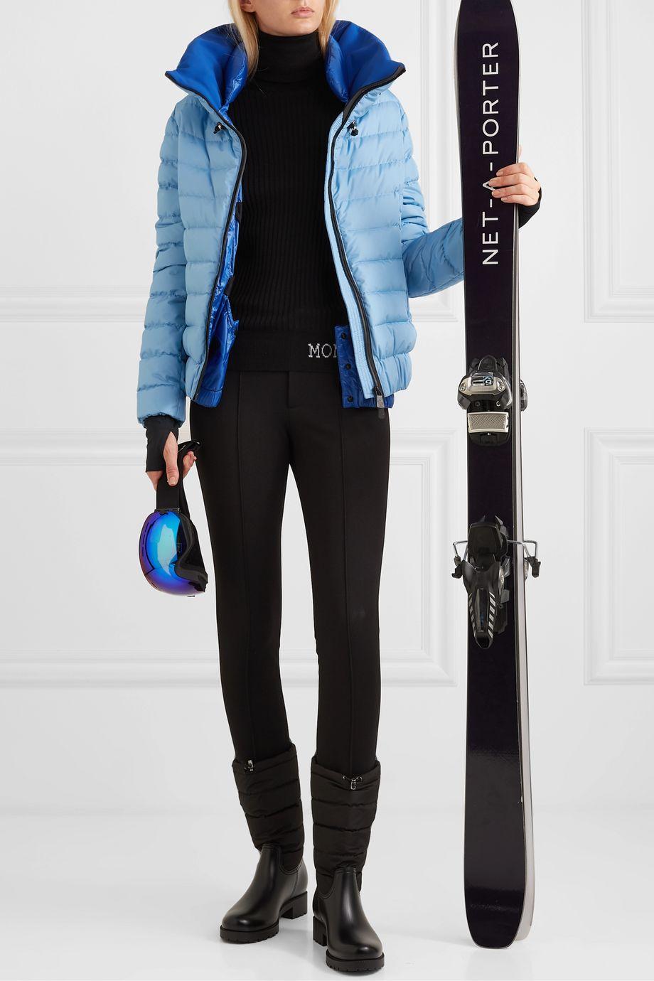 Moncler Grenoble Vonne quilted down ski jacket