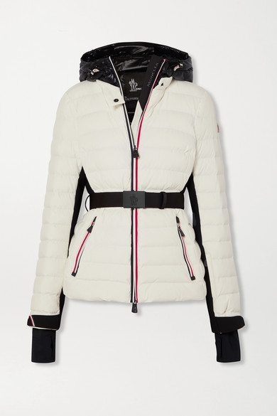 best sneakers 66b7d e1418 Bruche belted two-tone quilted ski jacket