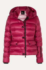Armotech quilted down ski jacket
