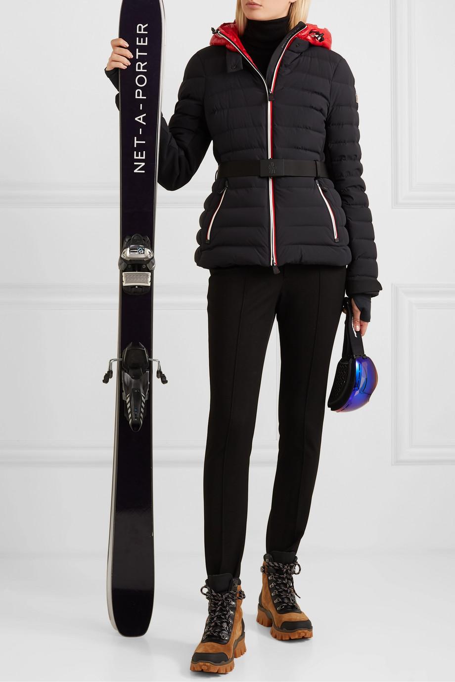 Moncler Grenoble Pantalon de ski fuseau en serge stretch