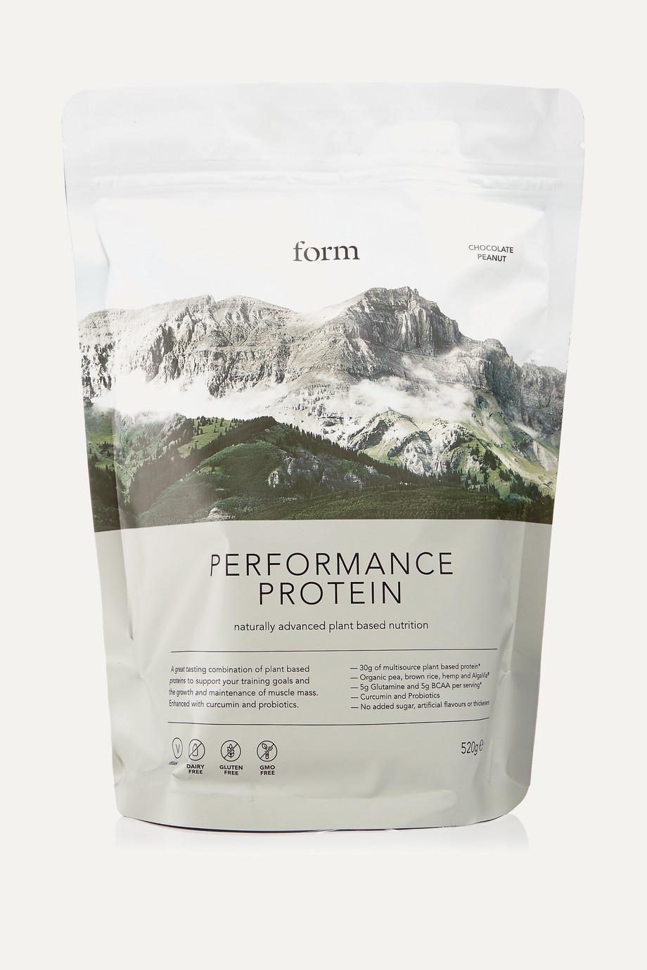 Form Nutrition + NET SUSTAIN Performance Protein - Chocolate Peanut, 520g