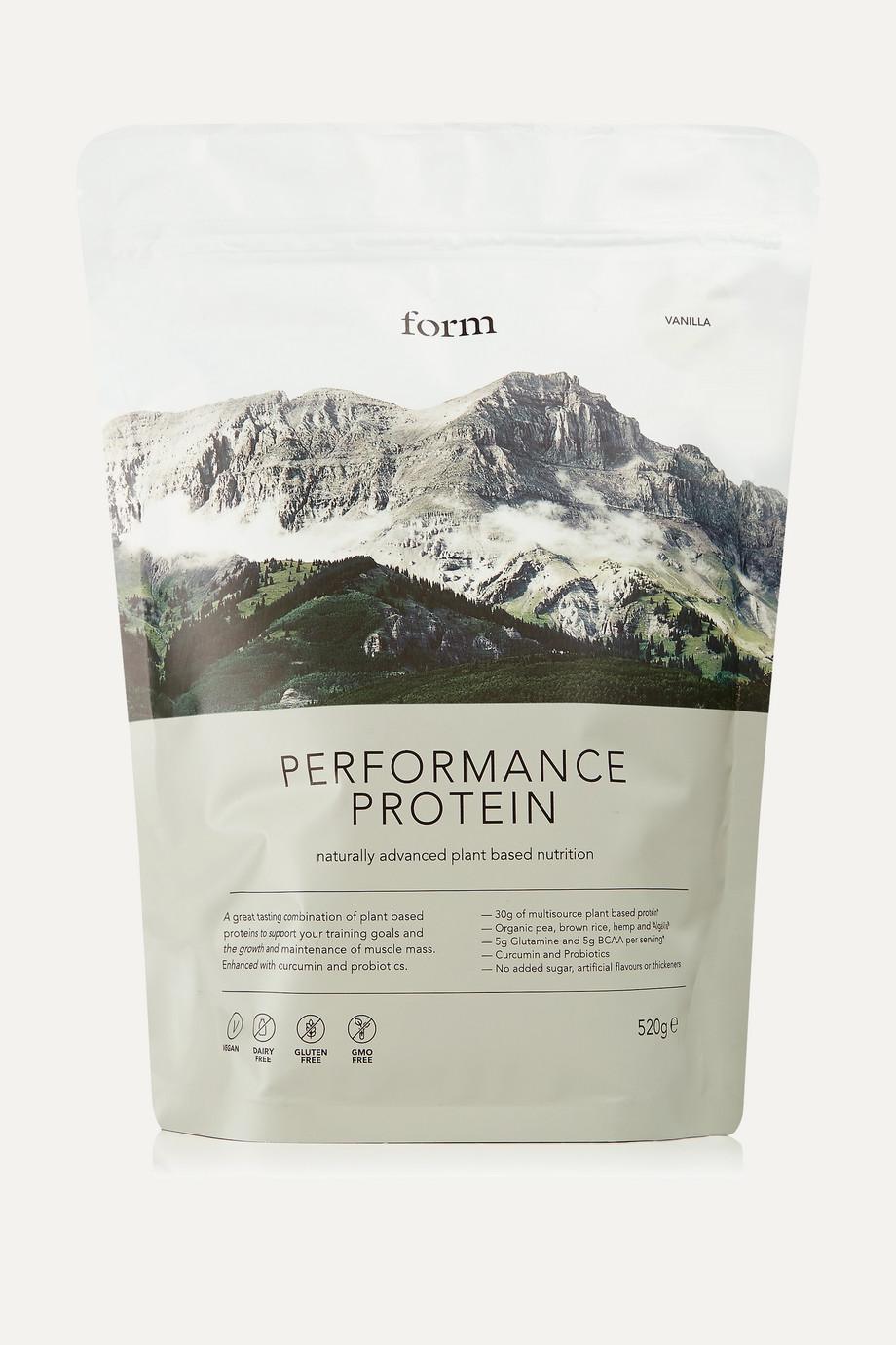 Form Nutrition + NET SUSTAIN Performance Protein - Vanilla, 520g