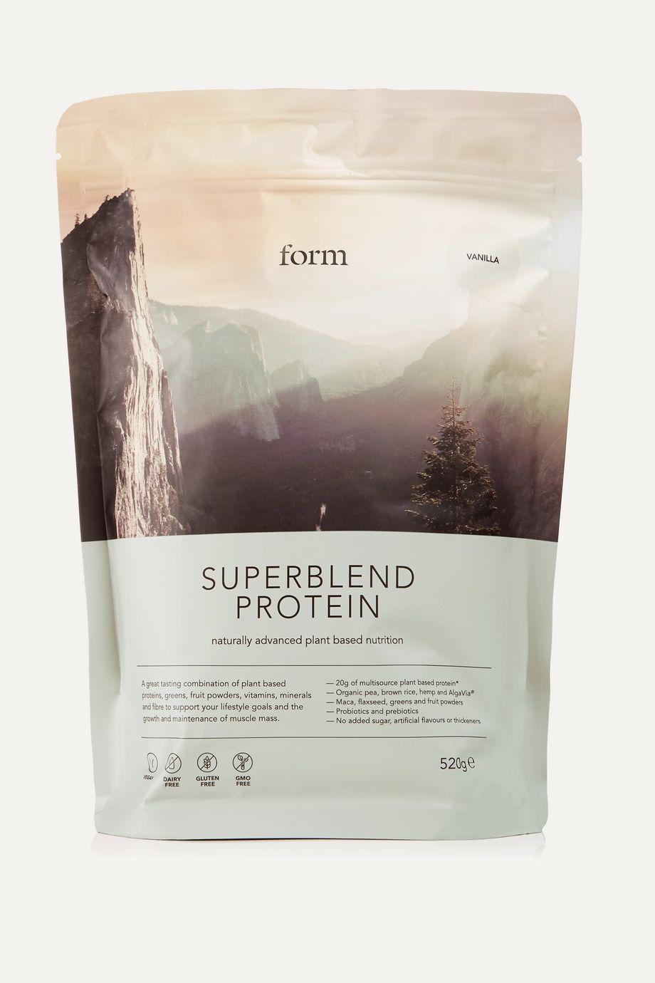 Form Nutrition + NET SUSTAIN Superblend Protein - Vanilla, 520g