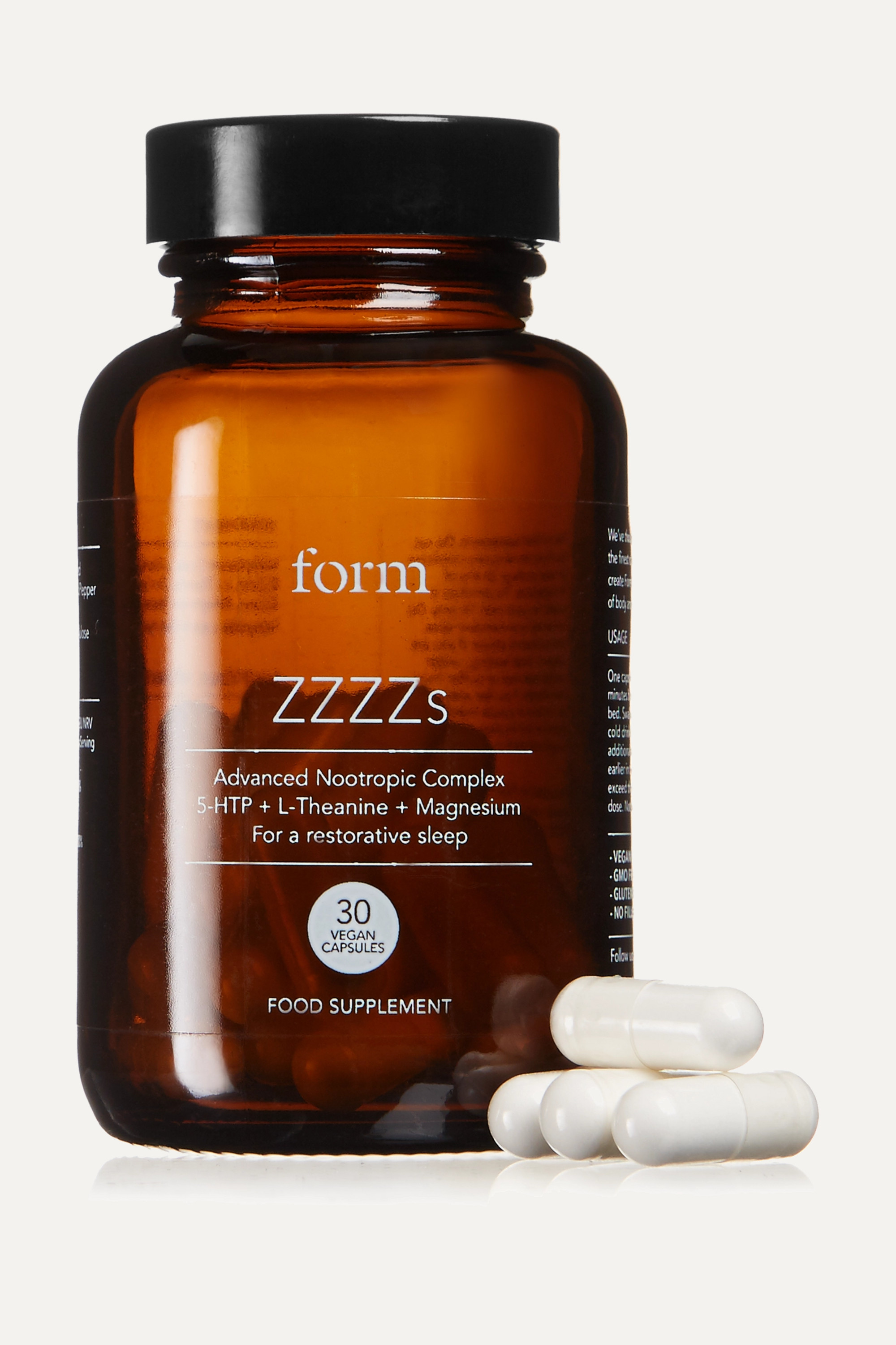 Form Nutrition + NET SUSTAIN ZZZZs Supplement (30 capsules)