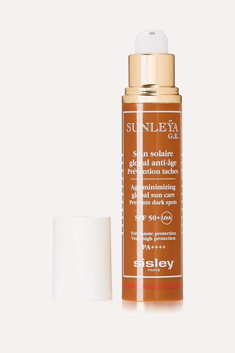 Sisley Soin solaire global anti-âge prévention taches SPF 50 Sunleÿa G.E., 50 ml