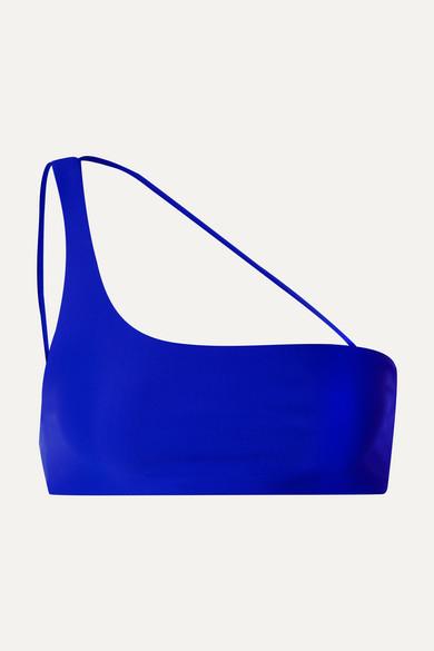 Haut De Bikini Asymétrique Apex - Bleu Vif