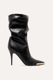 Stella McCartney Embellished faux leather boots