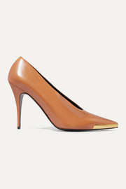 Stella McCartney Escarpins en cuir synthétique à ornements