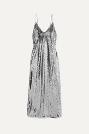 Stella McCartney Sequined tulle gown