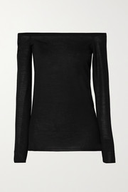 Stella McCartney Off-the-shoulder wool sweater
