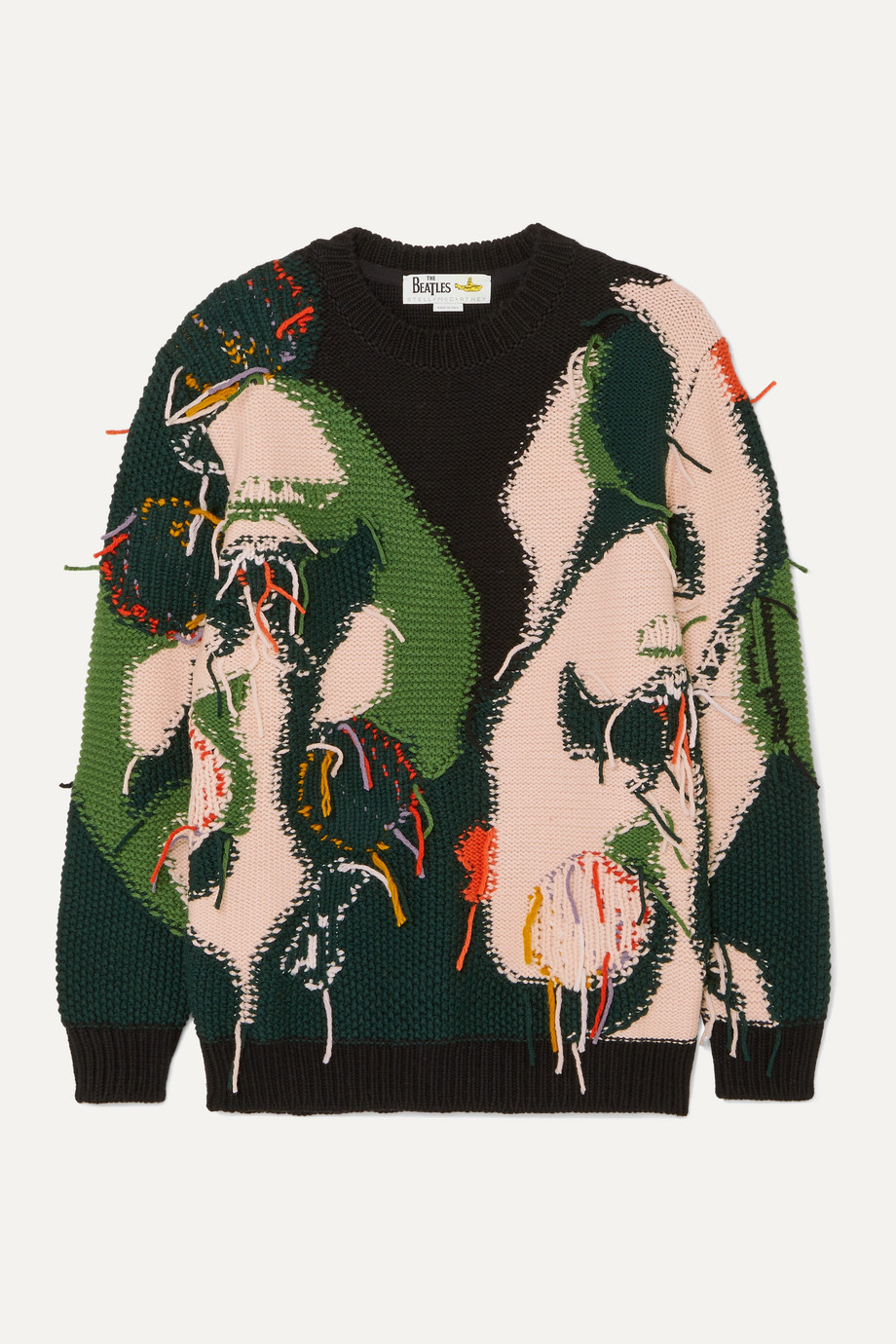 Stella McCartney + The Beatles intarsia wool sweater