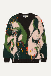 Stella McCartney + The Beatles intarsia wool sweater