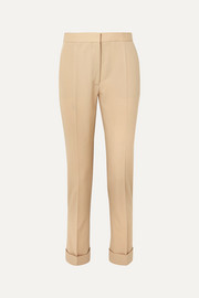 Stella McCartney Wool-twill straight-leg pants