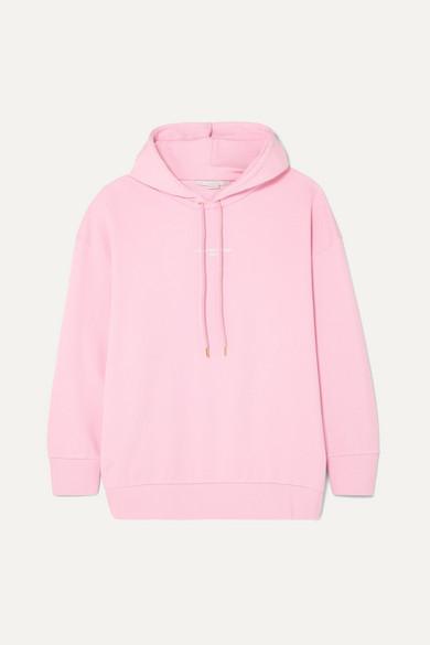 + Net Sustain Oversized Printed Organic Cotton Jersey Hoodie by Stella Mc Cartney